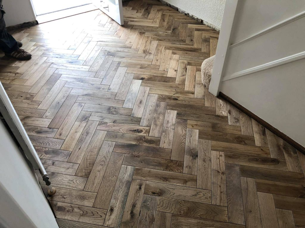 Worn Oak Herringbone | Leeds | Floorstore