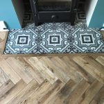 Worn Oak Parquet Wood Flooring - Lounge Harrogate | Floorstore