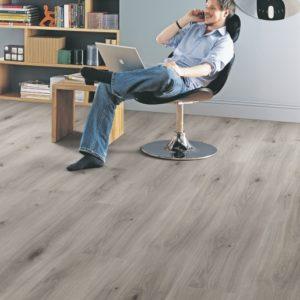 Elka 8mm Long Plank Dove Oak   Laminate Flooring   Floorstore